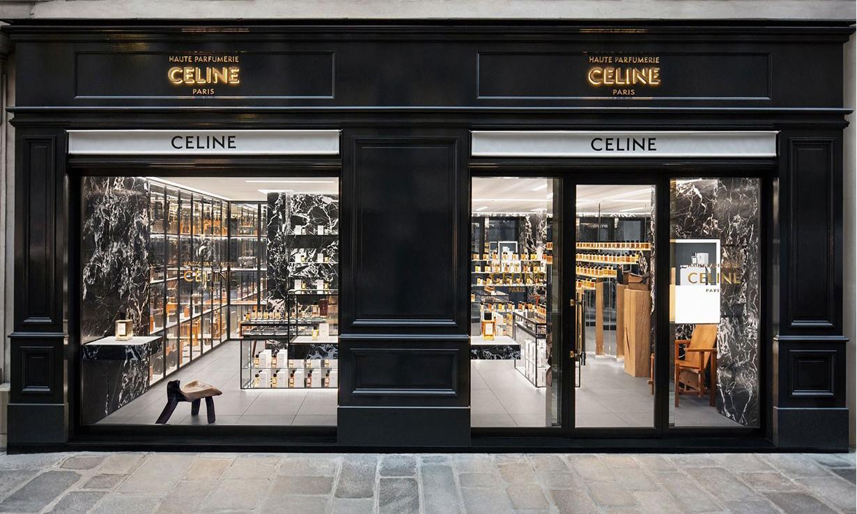 Celine 首间高订香水专卖店亮相巴黎