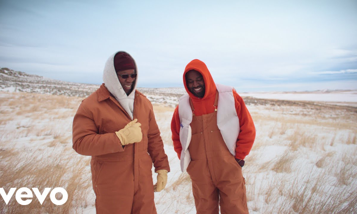 父子爱,Kanye West 正式发布《Follow God》MV