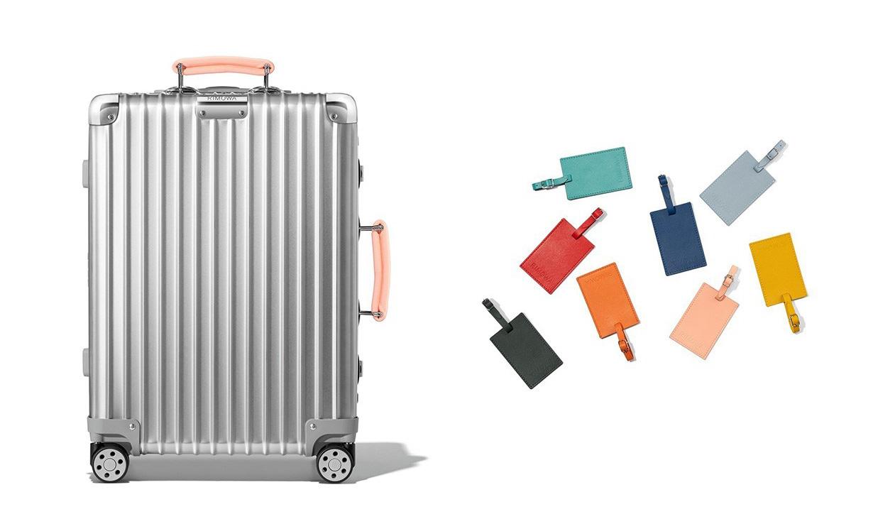 RIMOWA 推出全新客制化服务,可设计专属行李箱
