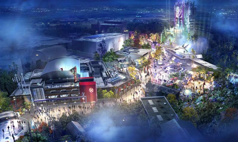 加州迪士尼复仇者联盟主题园区将于 2020 年夏季正式开放