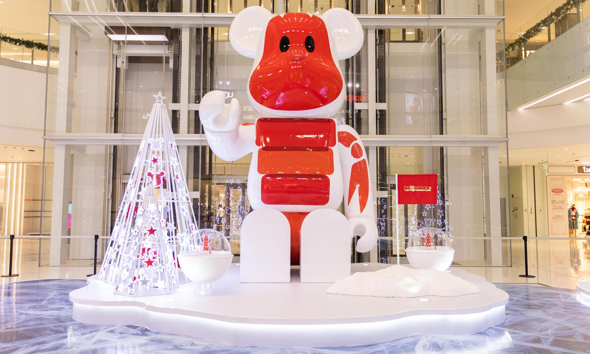 开启圣诞星愿之旅,长沙 IFS 联乘 BE@RBRICK PLANET 首登中国