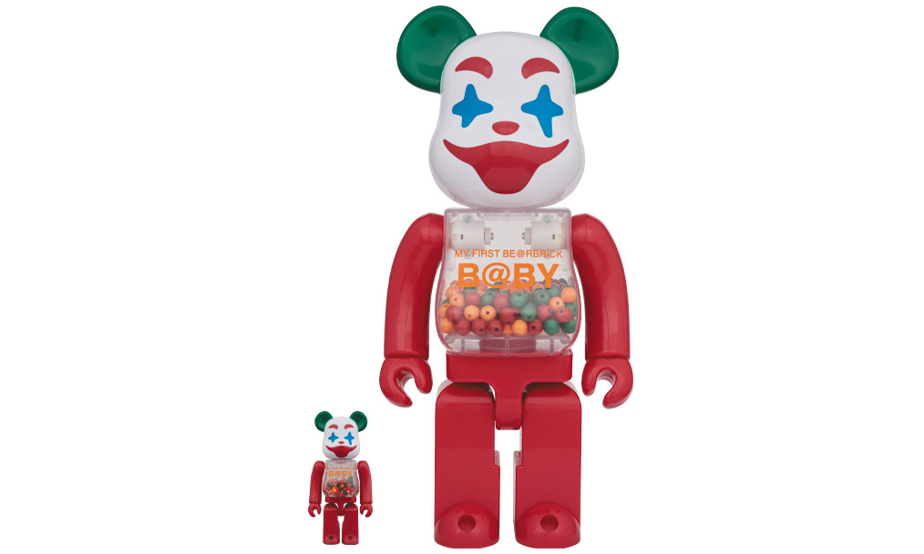 MEDICOM TOY 推出 MY FIRST BE@RBRICK B@BY 小丑系列公仔