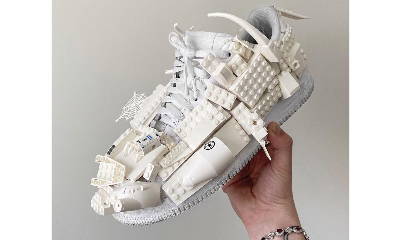 DIY 新思路,当 Sneaker 遇上 LEGO