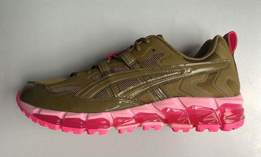抢先预览 GmbH x ASICS 全新联名鞋款