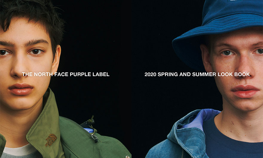 THE NORTH FACE PURPLE LABEL 2020 春夏系列 Lookbook 释出