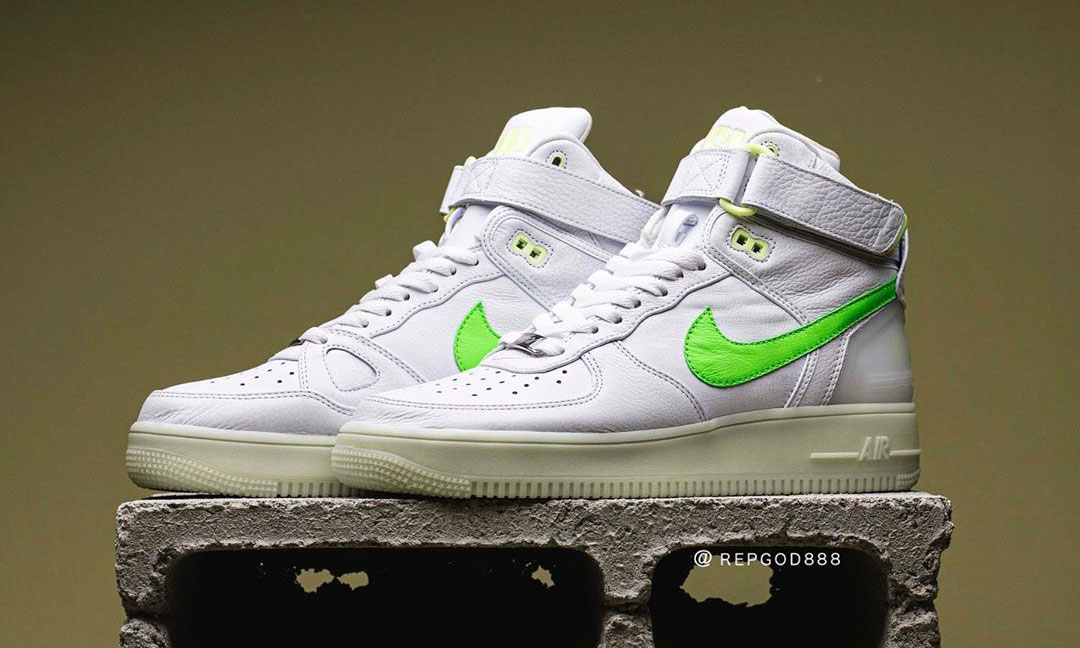 RSVP Gallery 与 Nike 做了一双「Air Force 1+2+3」