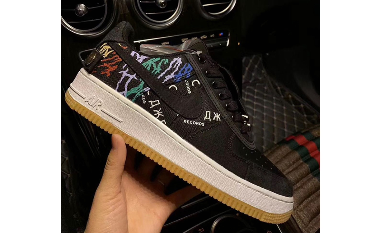 Travis Scott x Nike Air Force 1 全新设计曝光