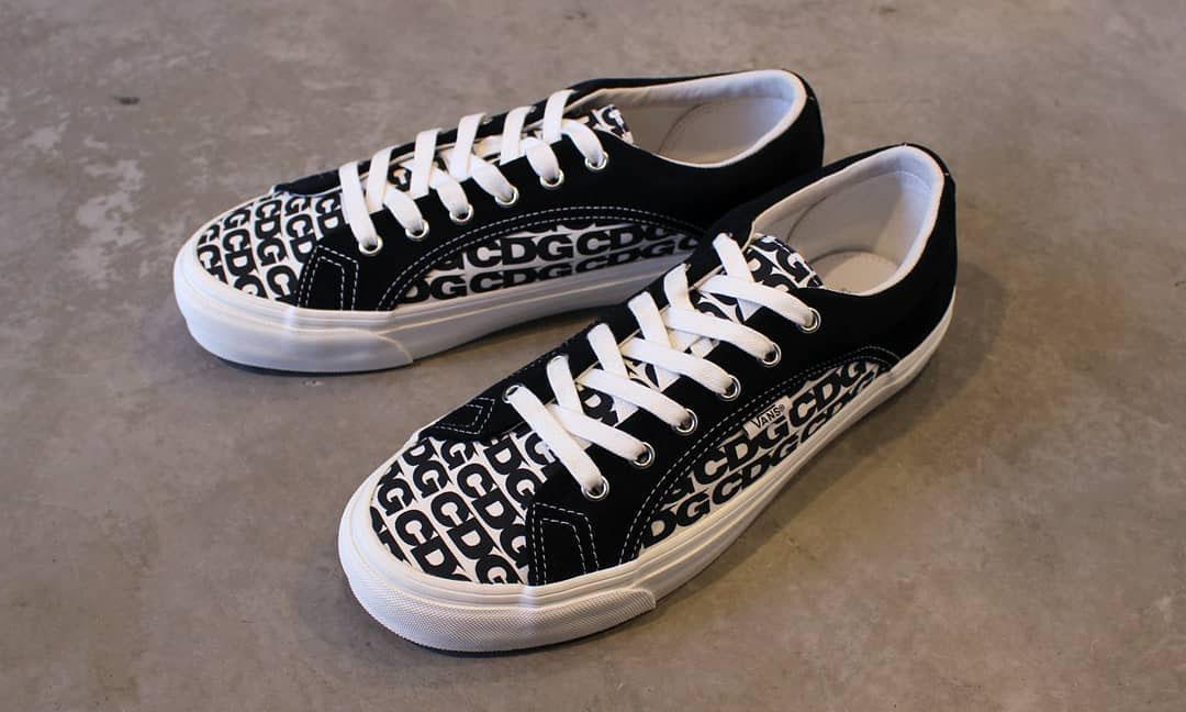 CDG 与 Vans 带来新联名鞋款,11 日开启发售