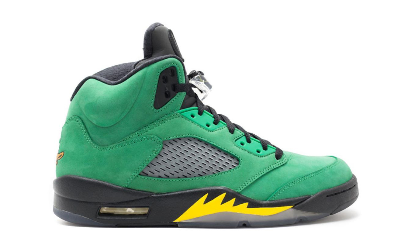 Air Jordan V「Oregon Ducks」或将于 2020 年复刻发售