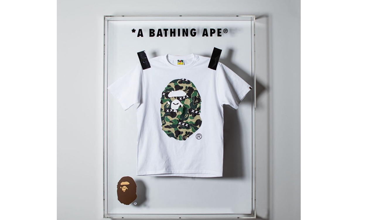 A BATHING APE® x GOD SELECTION XXX 联乘系列正式发布
