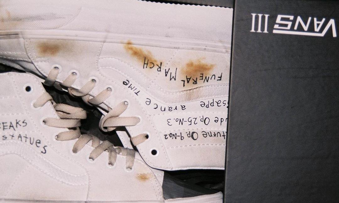Enfants Riches Déprimés x Vans 全新联乘鞋款发售日期确定