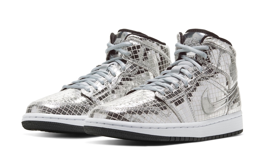 史上最炫?抢先预览 Air Jordan I Mid「Disco Ball」