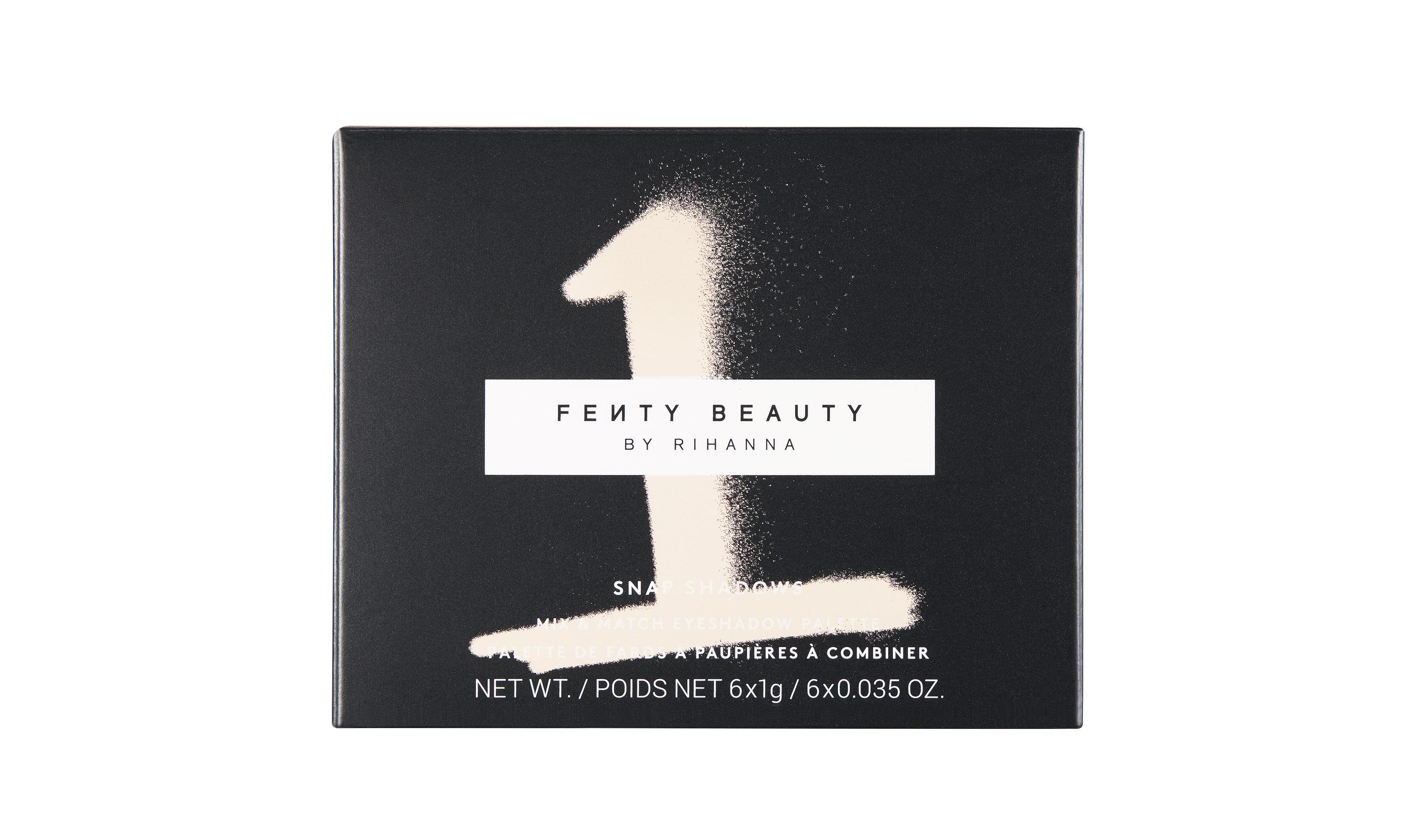 年终礼物精选,Rihanna 的美妆品牌 Fenty Beauty 释出新品眼影盘