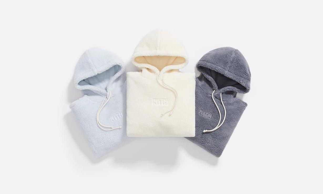 羊羔绒帽衫,KITH 最新 Monday Program 系列释出