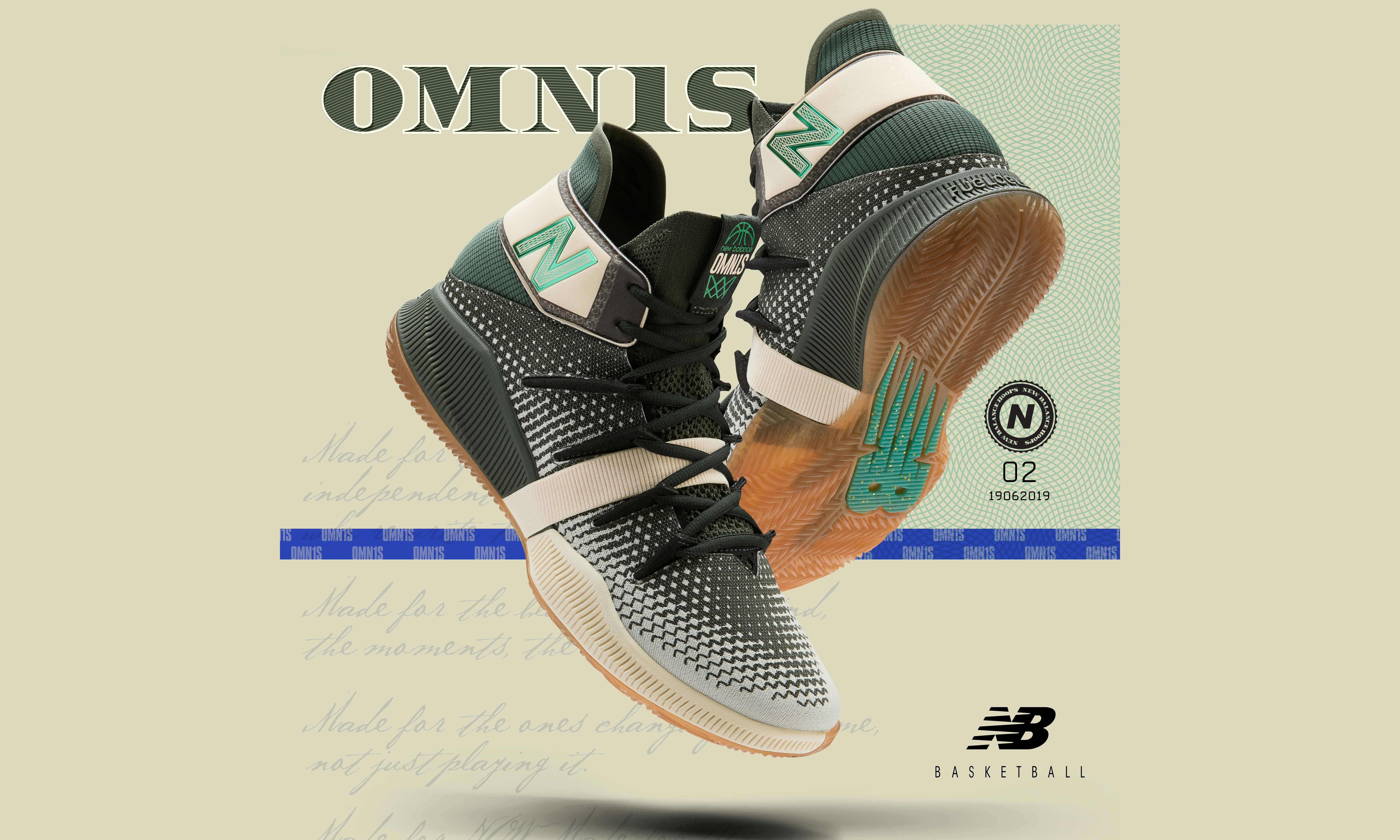 权势象征,New Balance 发布「Money Stack」配色 OMN1S 篮球鞋