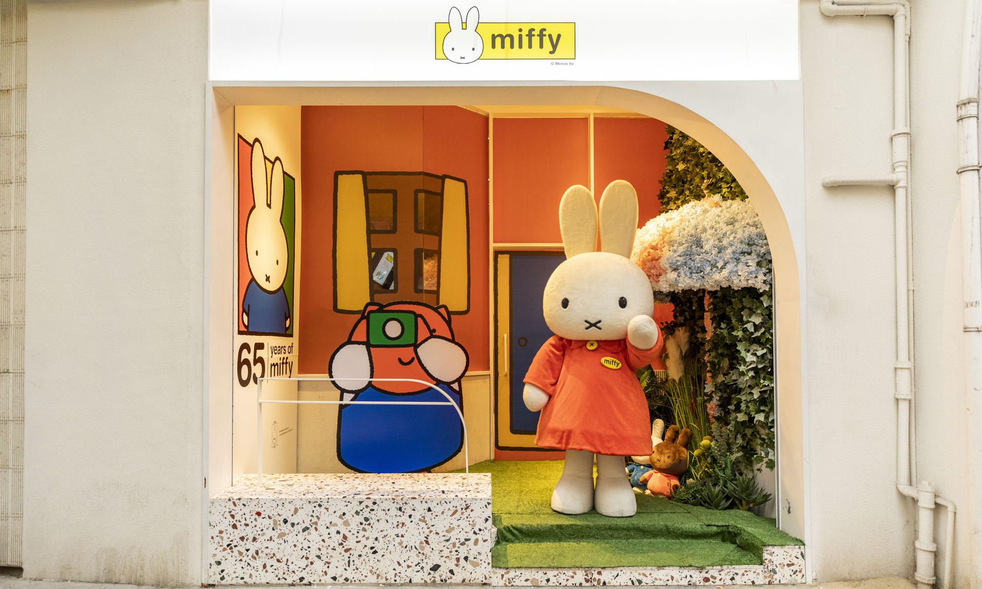 为 miffy 置家,Voler x 米菲兔 Pop-Up Store 正式开幕
