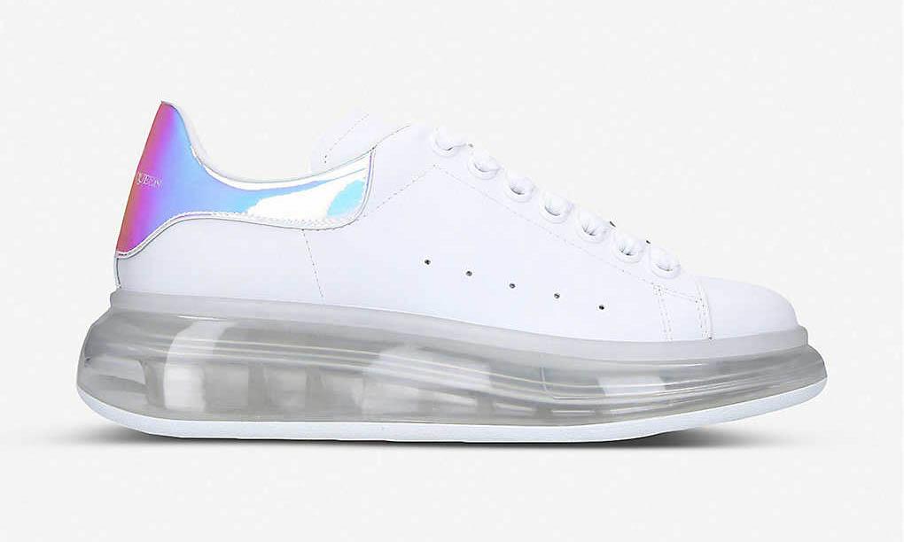 Alexander McQueen 为经典球鞋加入气垫中底