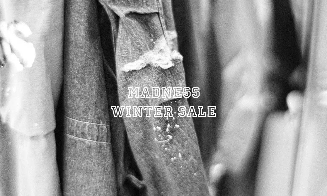 MADNESS Winter Sale 冬日折扣季即将开启