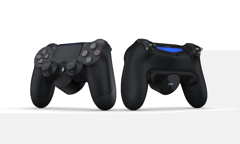 索尼官方为 PS4 手柄推出扩展按键外设