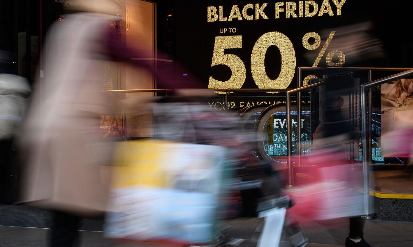 美国「黑色星期五」创消费记录