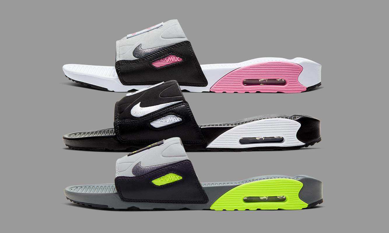 30 周年「周边」,Nike Air Max 90 Slide 拖鞋系列释出