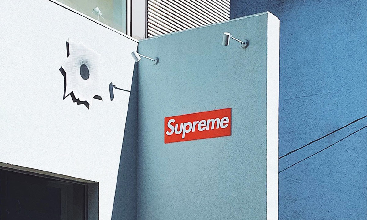 Supreme 大阪门店遭破坏抢劫