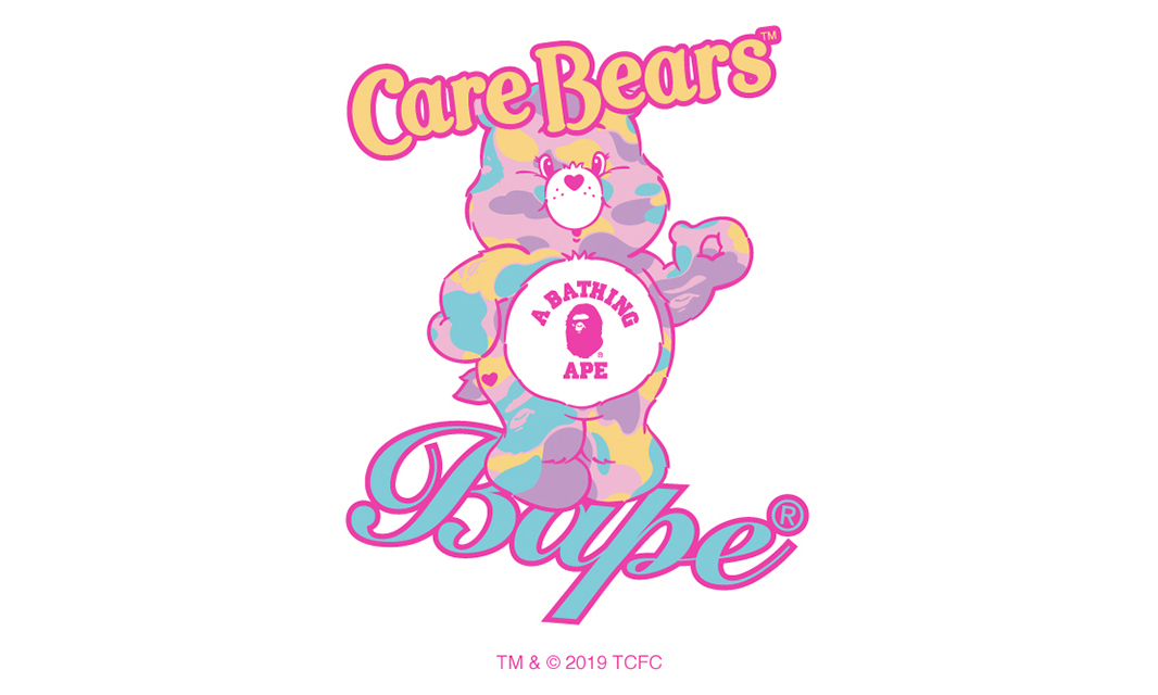 BAPE®︎ 与《Care Bears》打造联名系列