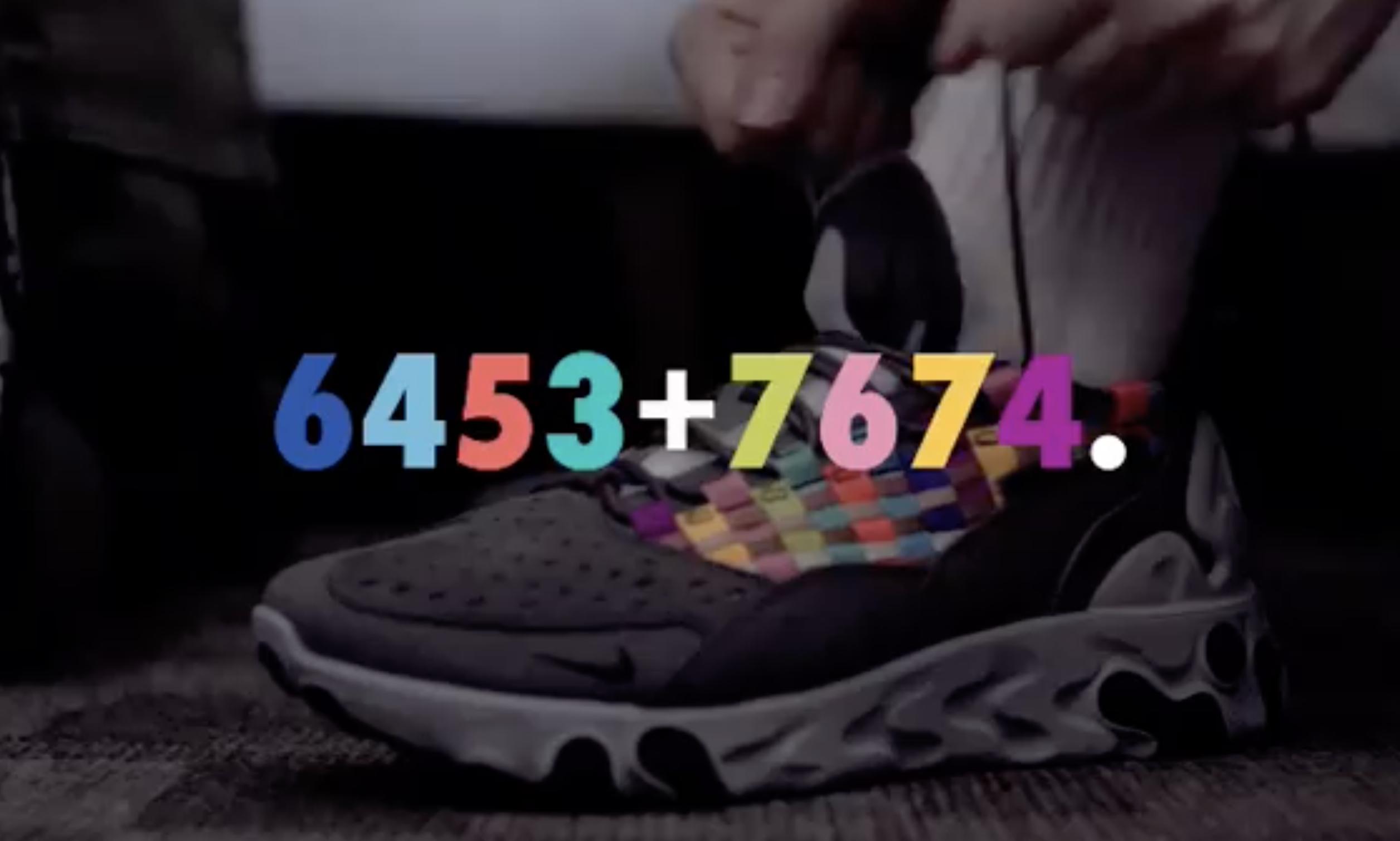 Nike for SOPH. 「6453+7674.」联名系列登场