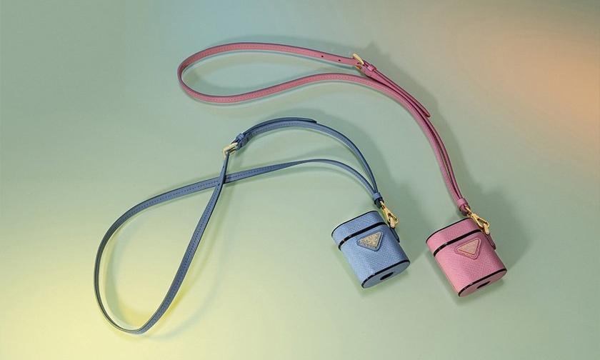迷你手袋外型,Prada 推出新款 AirPods 保护套
