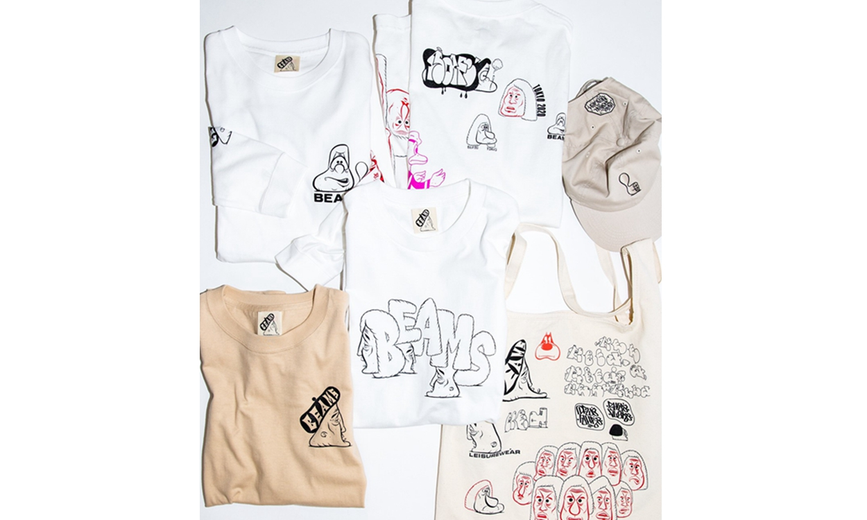 Barry McGee x BEAMS 东京 Pop-Up Store 即将开催