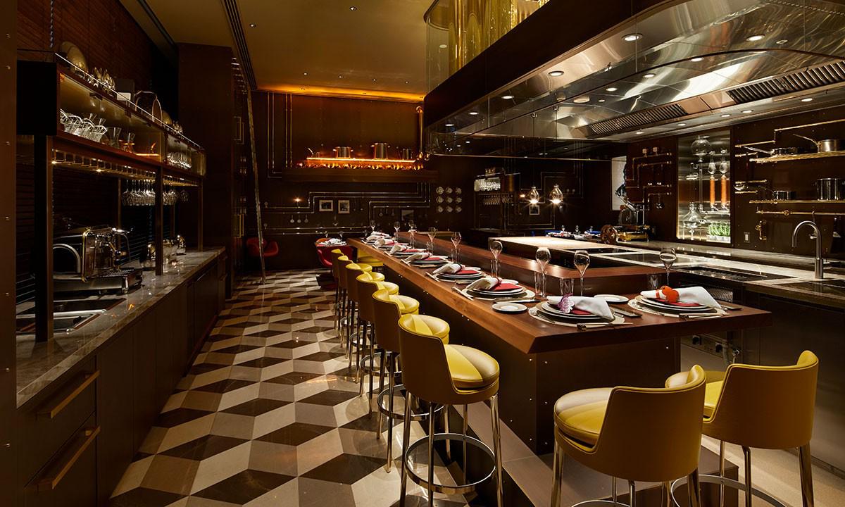 近赏 Louis Vuitton 日本大阪旗舰店 LeCaféV 餐厅