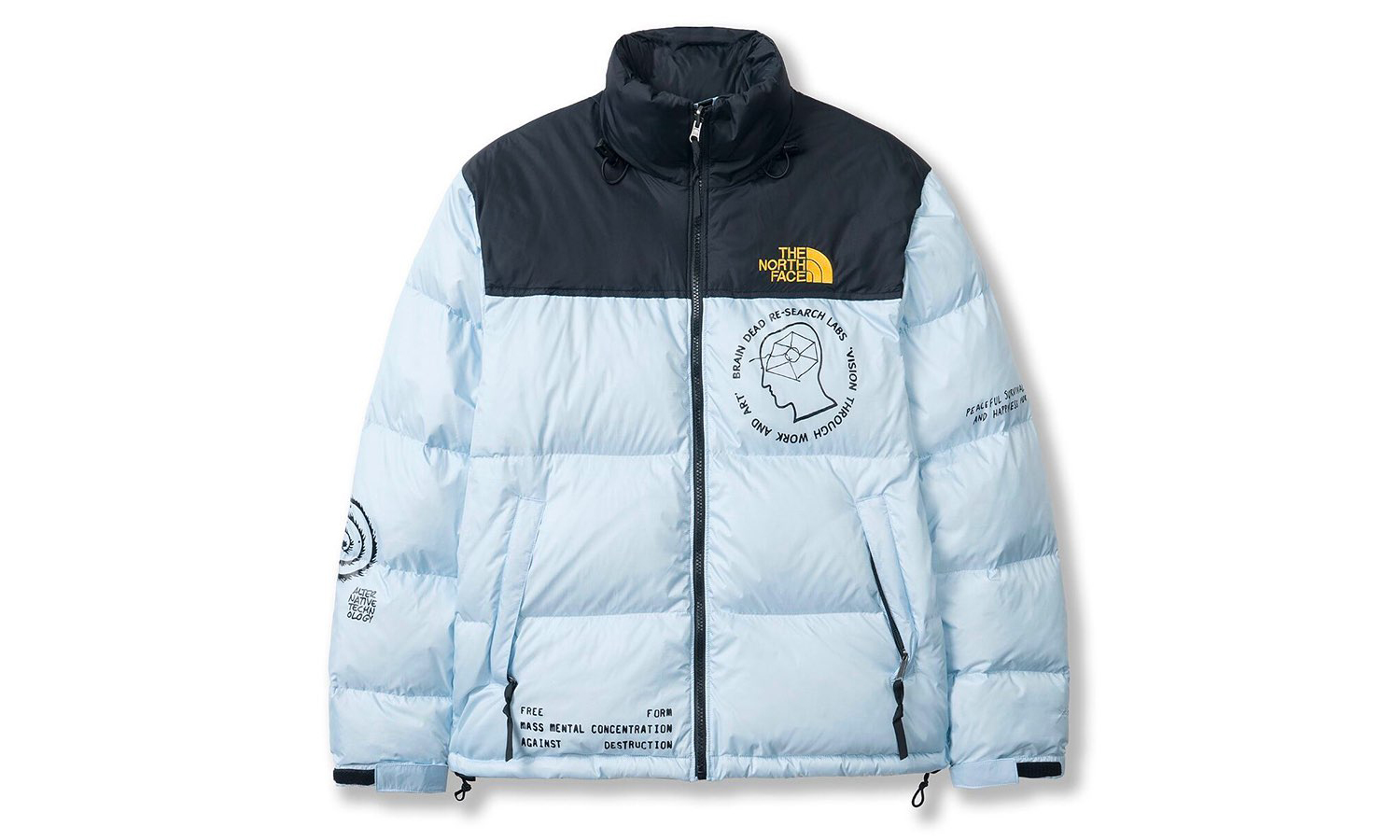 Brain Dead x THE NORTH FACE 将再度发售