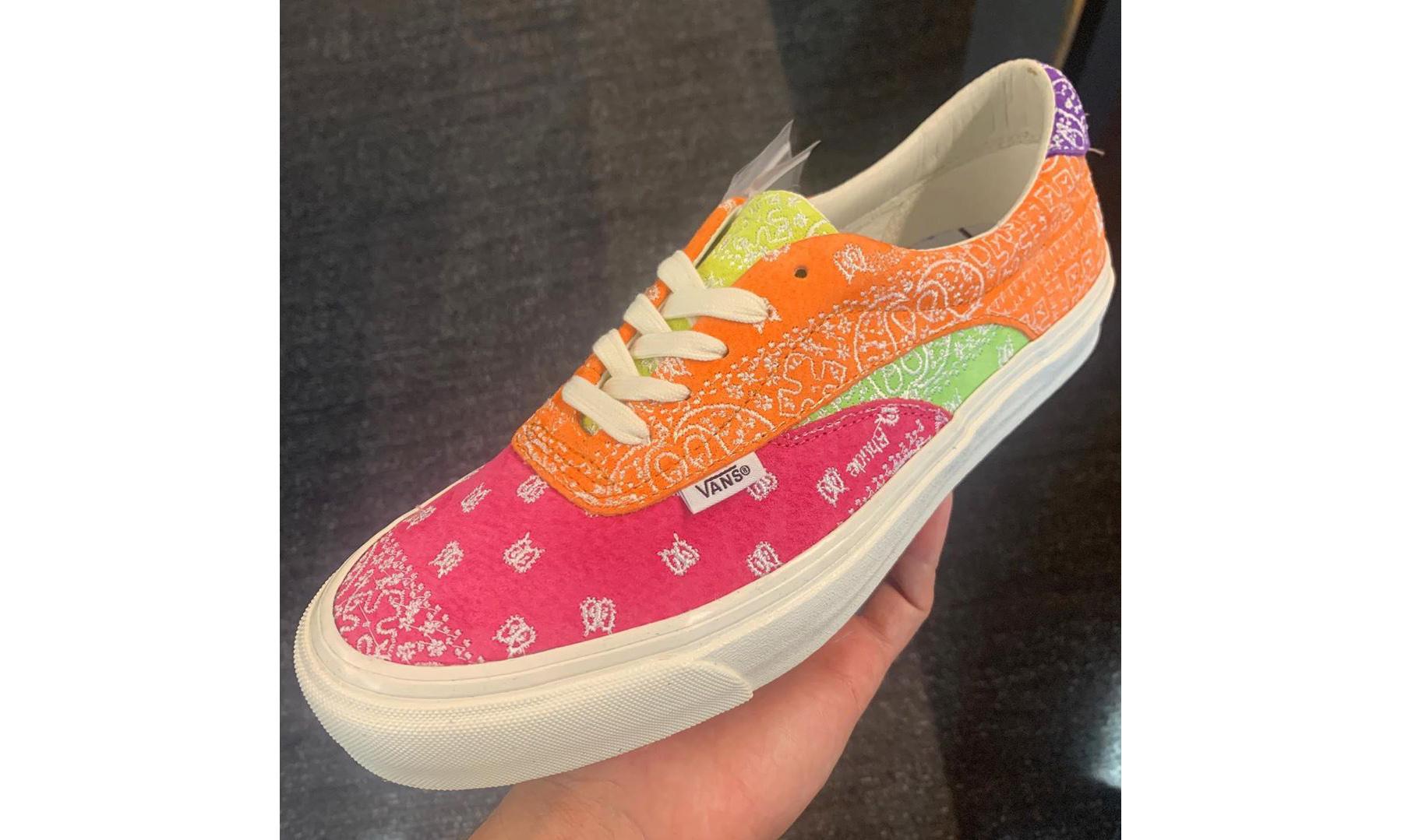 抢先预览 RHUDE x Vans 新一波联名鞋款