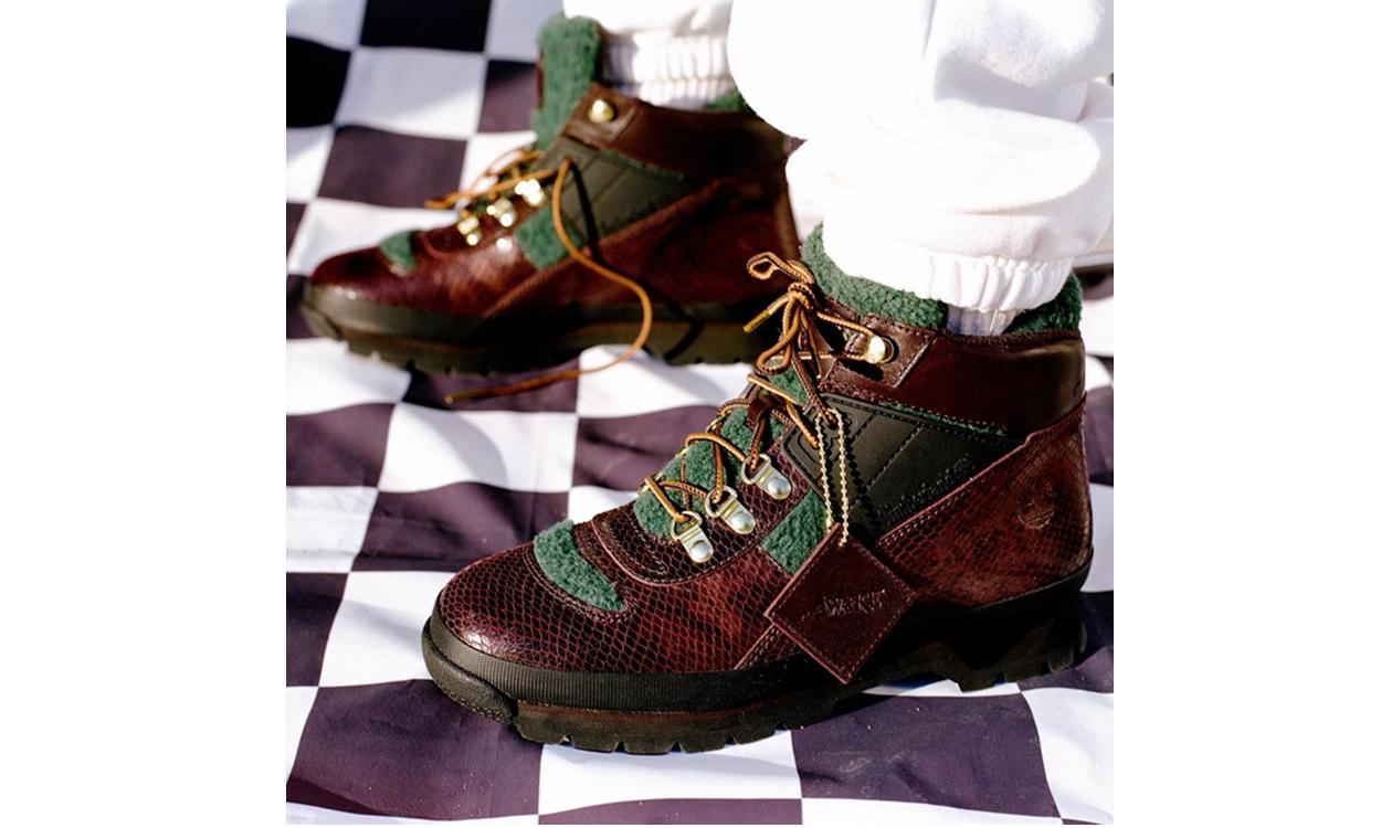 Awake NY 携手 Timberland 打造全新合作鞋履
