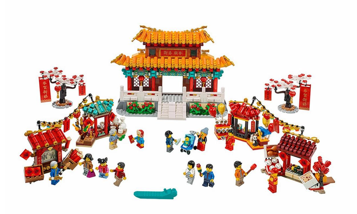 乐高推出中国农历新年限定模型套组