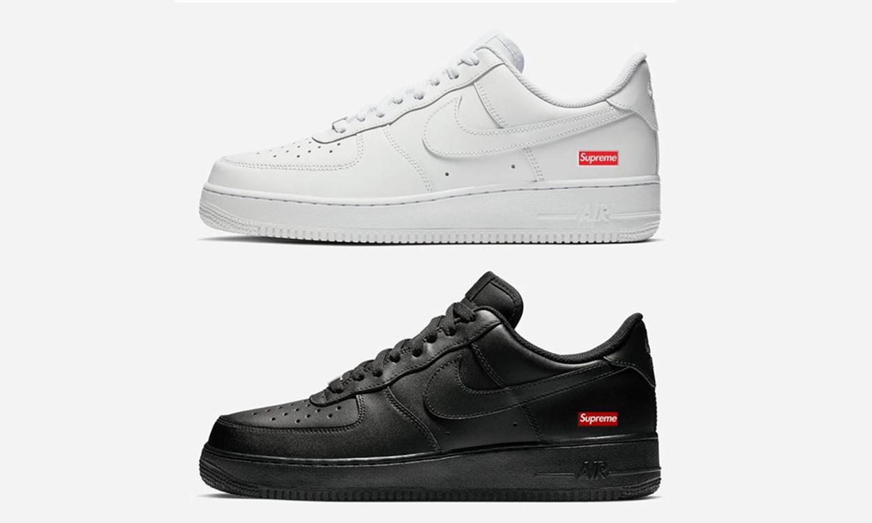 有手艺么?那 Supreme x Nike 联名 Air Force 1 就是你的
