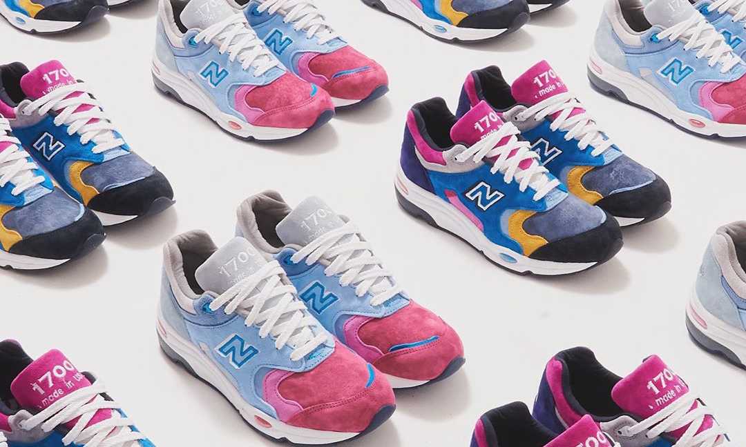 Ronnie Fieg x New Balance 1700 联名系列完整公开