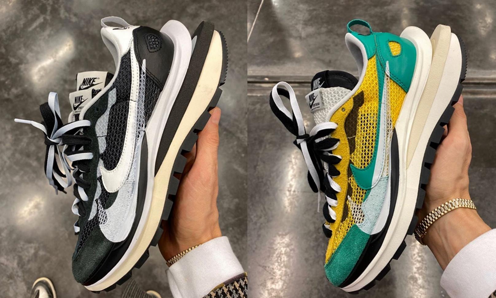 sacai x Nike Vaporwaffle 曝光