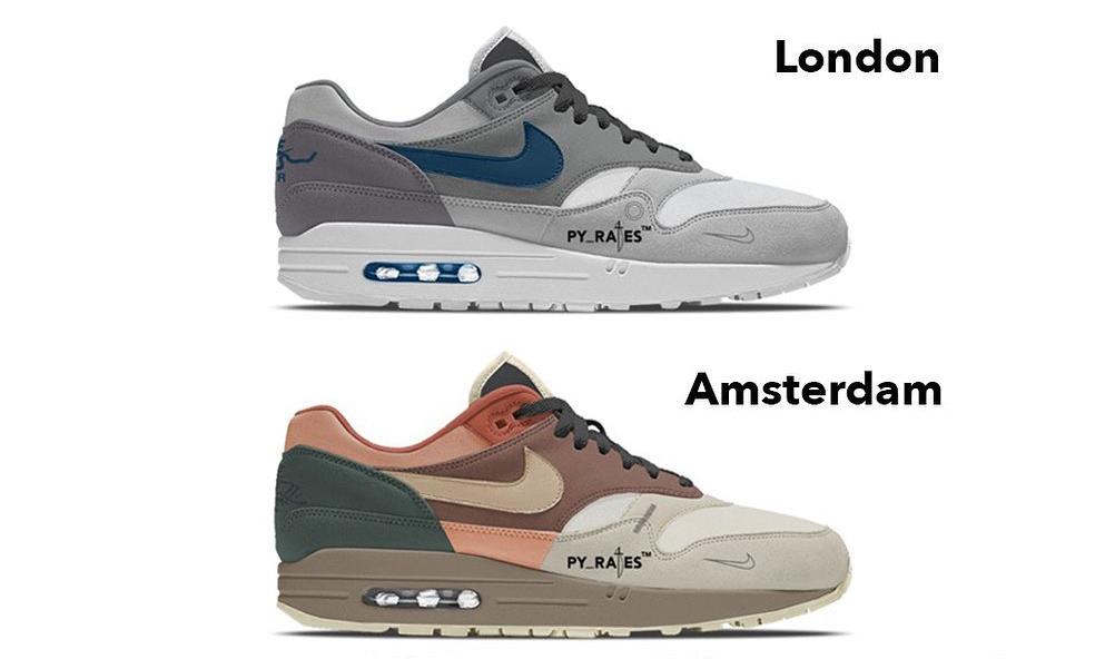 「曲线」圆梦机会?Nike Air Max 1 城市系列春季发布