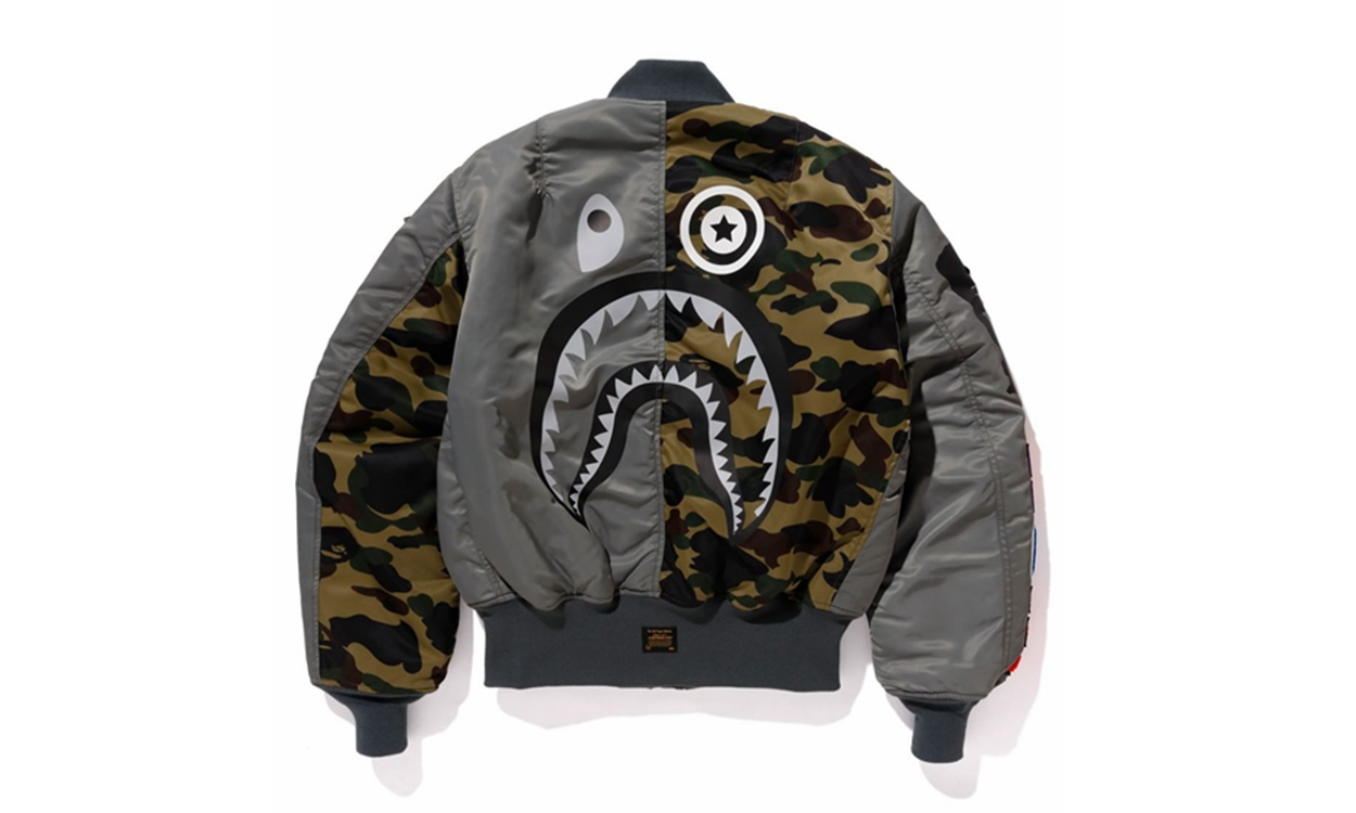 A BATHING APE® 公开与 Alpha Industries 的新一度合作