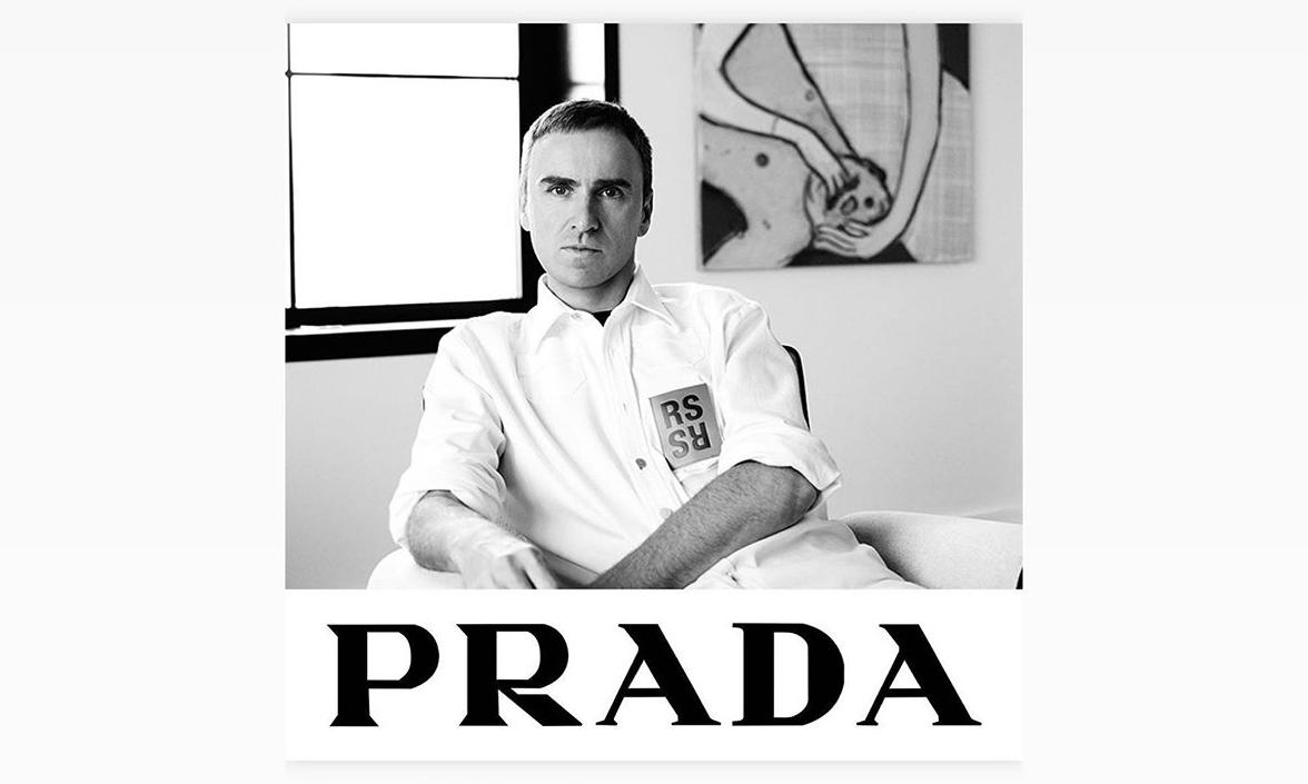 Raf Simons 或将加入 PRADA?