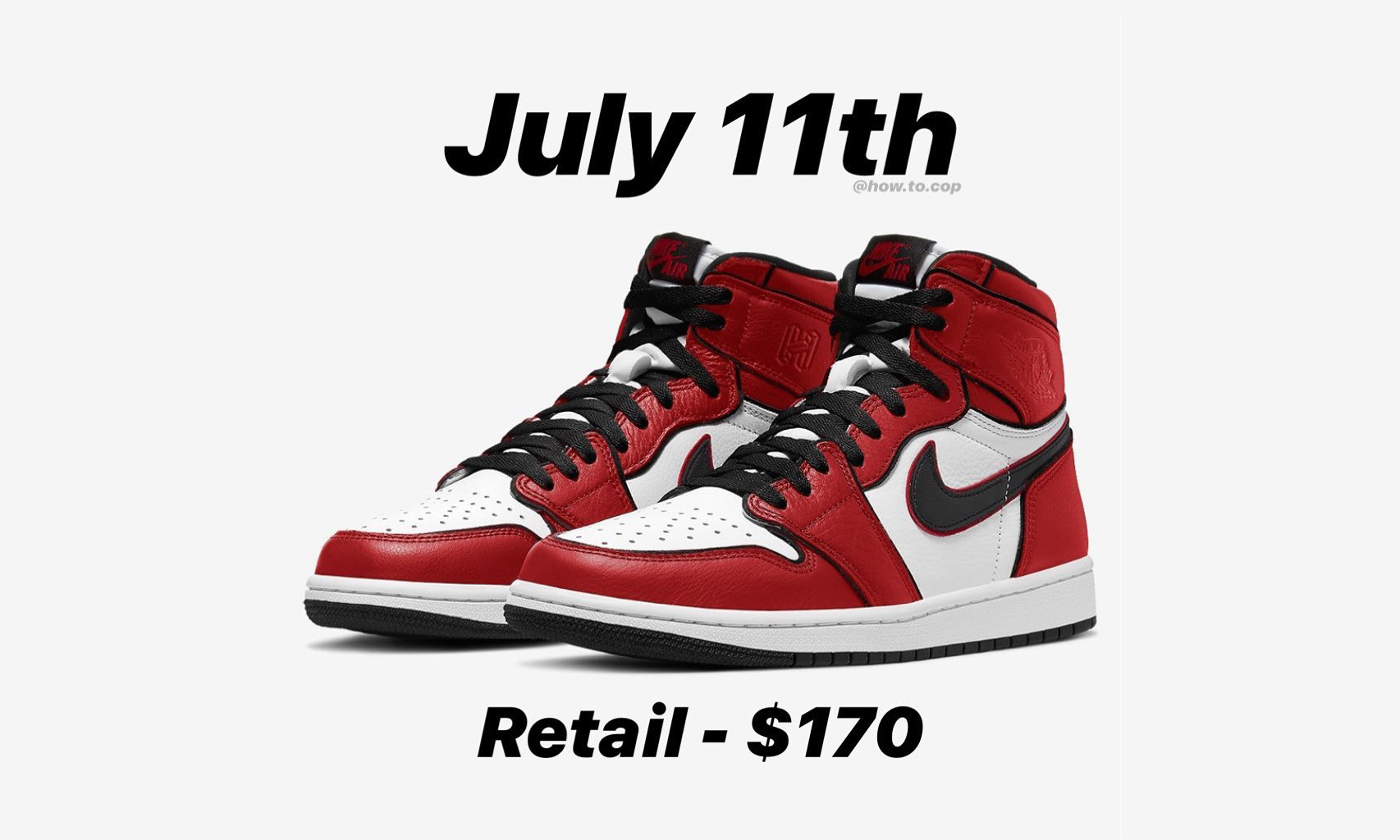 Air Jordan I Retro High「Bloodline」2.0 定档 7 月