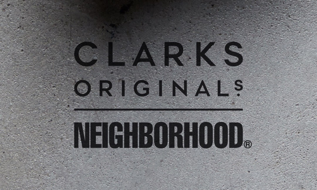 NEIGHBORHOOD x Clarks Originals 联名即将登场