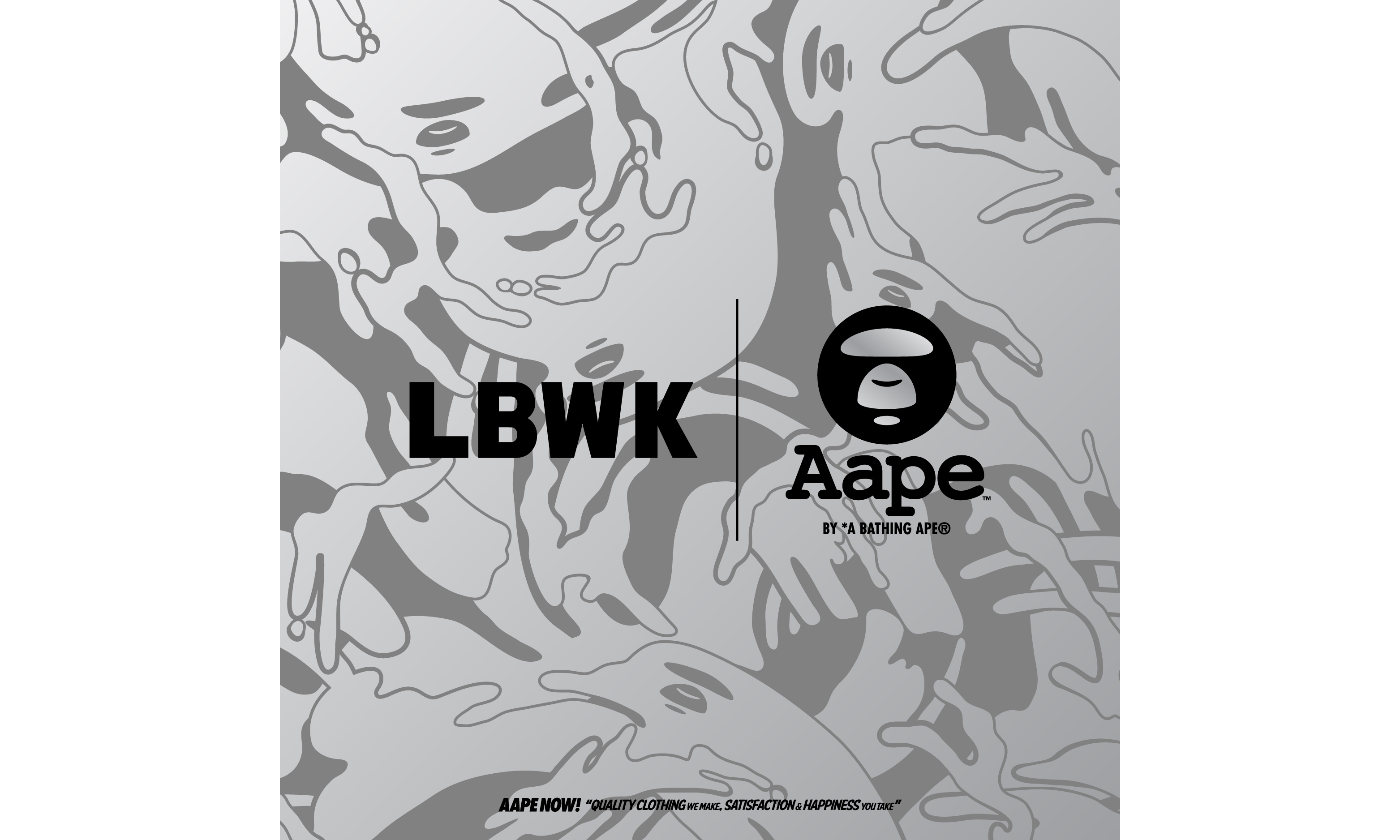 AAPE BY A BATHING APE® x LIBERTY WALK 发布联乘系列