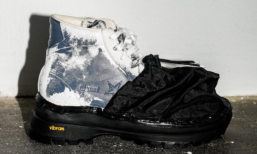CONVERSE x Eastwood Danso 多双联名鞋款亮相时装周