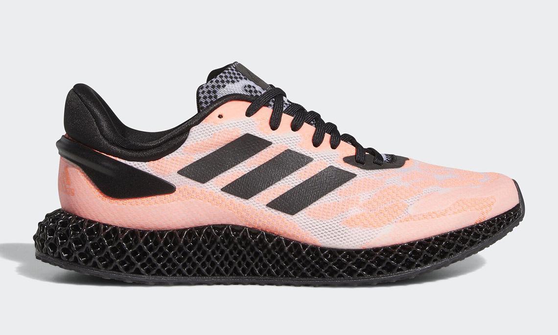 黑色鞋底终至,adidas 4D Run 全新配色预览