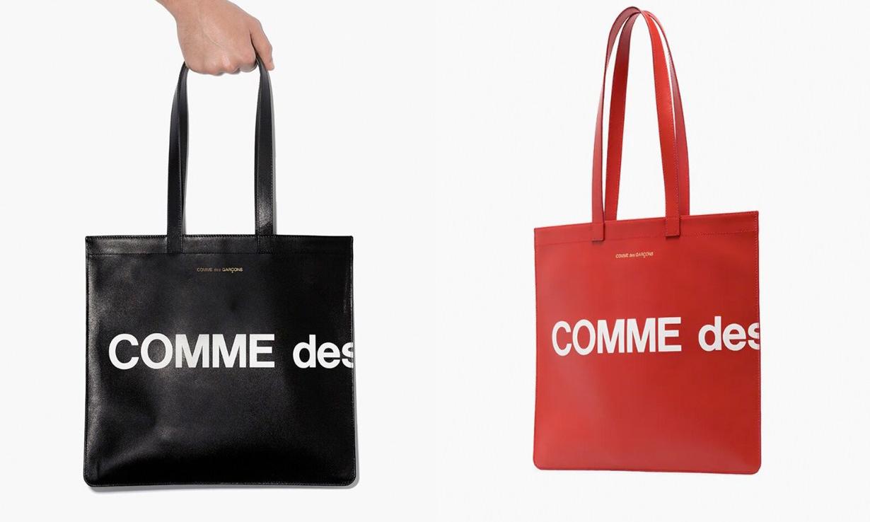 简约风格,COMME des GARÇONS 推出全新 Logo 托特包系列