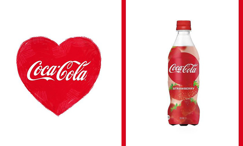 情人节限定,日本可口可乐将推出草莓口味可乐