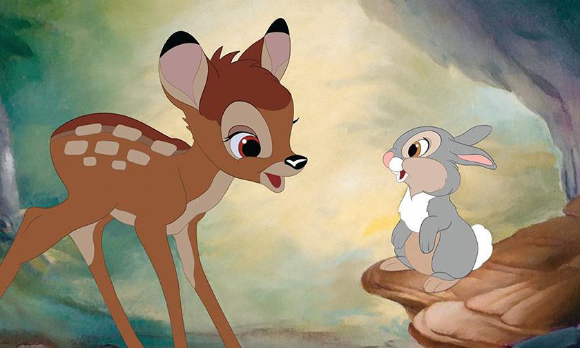 又一部真人版动画电影,Disney 决定开拍《小鹿斑比》