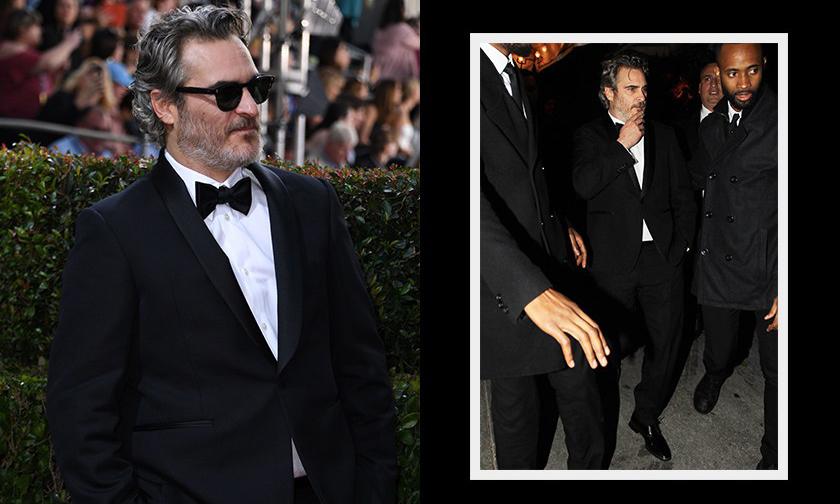 呼吁环保,Joaquin Phoenix 将只穿同一套西装出席所有颁奖活动